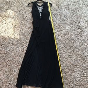 Black Adrianna Papell Formal Gown